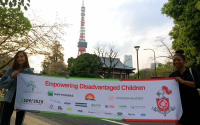 Running, walking and cycling – supporting Mirai no Mori