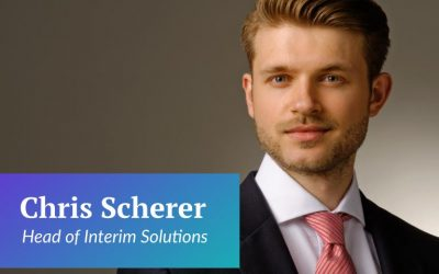 Welcoming a new Head of Interim Solutions